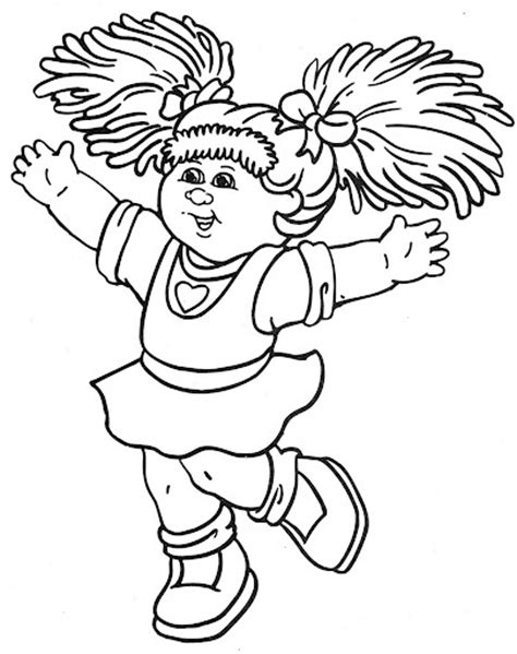 Cabbage Patch Kids 8 Coloring Pages Pinterest Cabbage Patch Coloring Pages