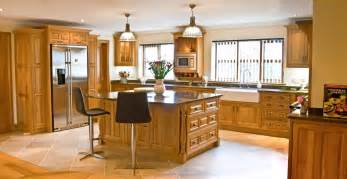 Lighting For Kitchens Ideas oak kitchen newquay mark stone s welsh kitchens