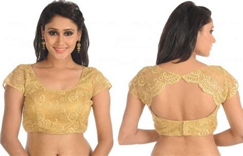 Plain Sleeve Blouse Set 12 modern saree blouse designs should in