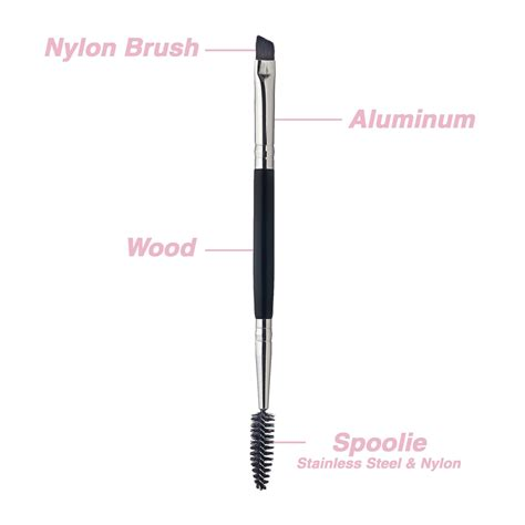 Dual Ended Makeup Brush qosmedix dual ended brow brush