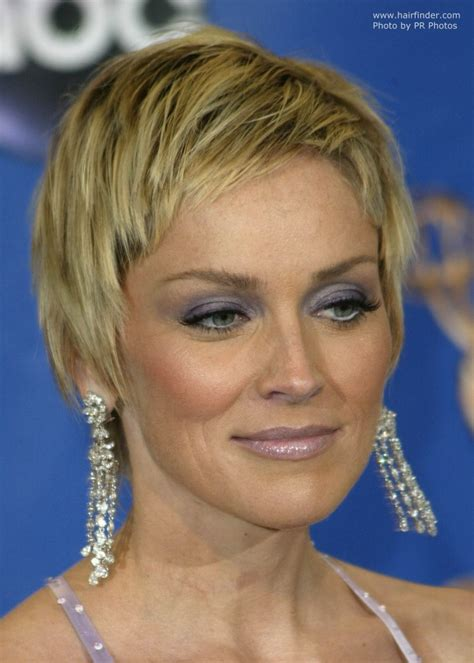 pics of sharon stones hair cut only print out front and back sharon stone haircuts haircuts models ideas