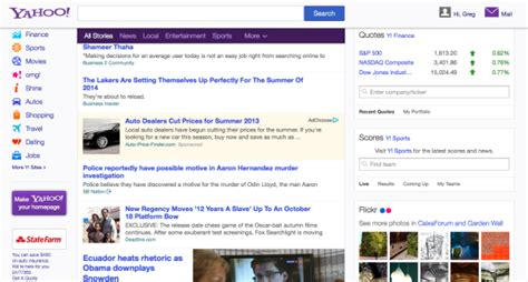 www yahoo search news homepage the new yahoo news now with more homepage marketing land