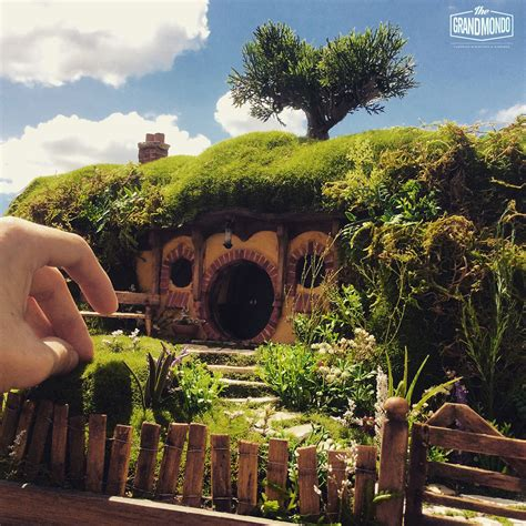 house diorama diorama the hobbit bilbo s home on behance