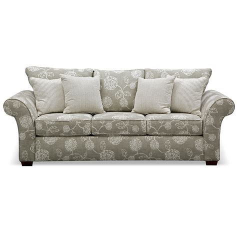 kroehler couch high quality kroehler sofa 6 adele sofa value city