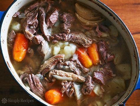 traditional irish lamb stew videos cooking channel irish lamb stew simplyrecipes com