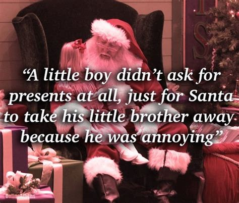 mall santas reveal the most bizarre christmas gifts kids
