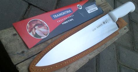 Victorinox Pisau Skinning Knife Pisau Seset Kulit Victorinox Berlisens pisau chef tramontina profissional master 10 quot plus sarung