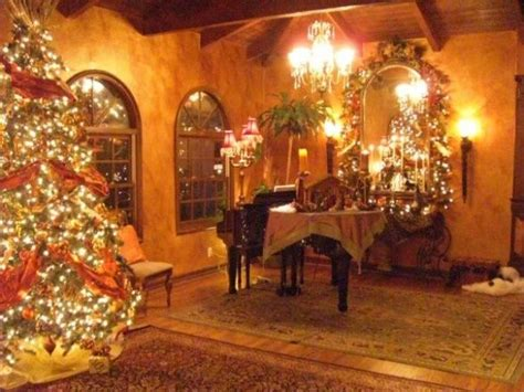 tuscan copper christmas home decorating pinterest
