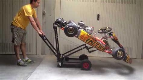 carrello porta kart usato carrello solleva go kart racing trolley karting