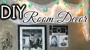 Diy tumblr inspired wall art room decor youtube