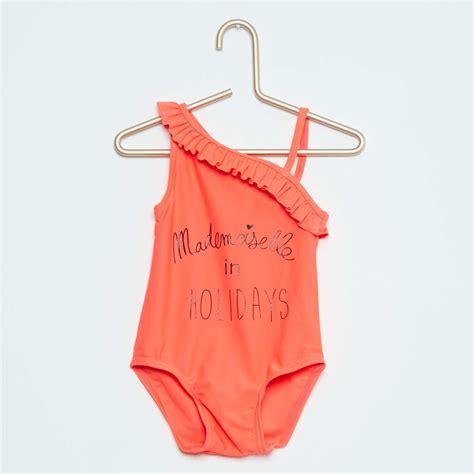 costume da bagno neonato costume da bagno intero asimmetrico neonata kiabi 8 00