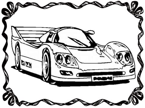 free drag cars coloring pages
