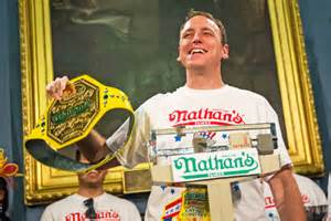 contest record what is the nathan s contest record