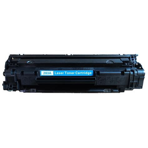 hp cf283a new black compatible toner cartridge 83a