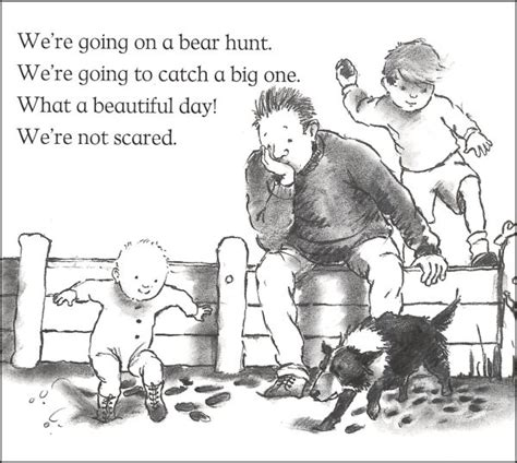 going on a bear hunt colouring pages page 2