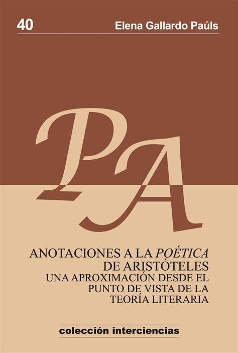 libro de la a a sobre po 233 tica blog sobre teor 237 a de la literatura p 225 gina 2