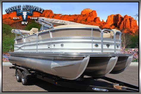 brand new pontoon boats forest river marine 3 0 performance package pontoon boat