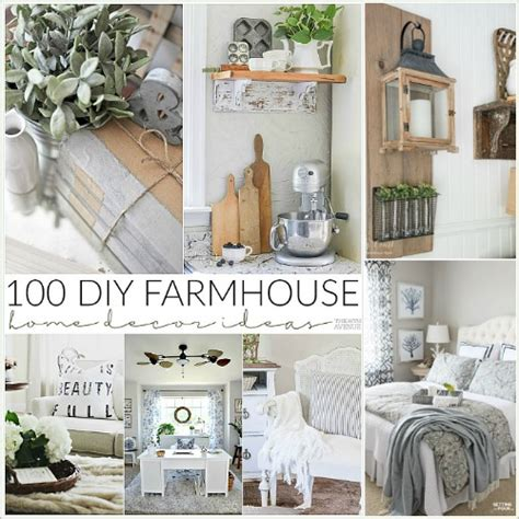 Home Decorating Themes 100 Diy Farmhouse Home Decor Ideas The 36th Avenue