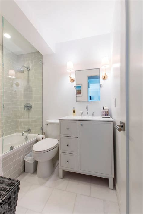 fresh  stylish small bathroom remodel add storage ideas