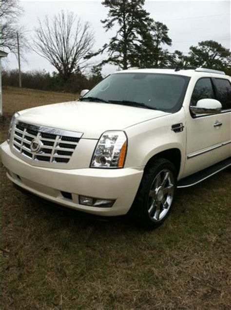 how cars run 2007 cadillac escalade ext transmission control find used 2007 escalade ext pearl white buckskin leather one owner in hot springs national park