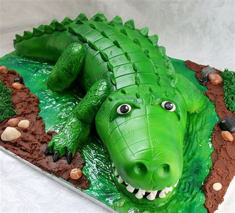 25 best ideas about crocodile cake on pinterest