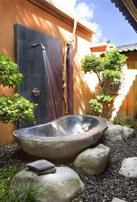 awesome bathroom design  stone bathtubs