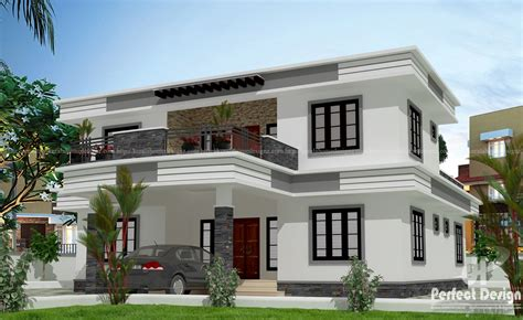wellsuited simple home design contemporary kerala and floor plans beautiful modern contemporary 4 bhk home kerala home design