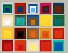 1000 images about farbenlehre 1 josef albers the