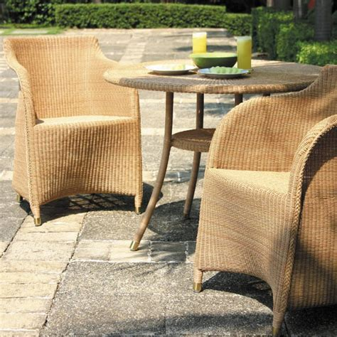 Lloyd Loom Bistro Table Cordoba Outdoor 790 Bistro Table Lloyd Loom