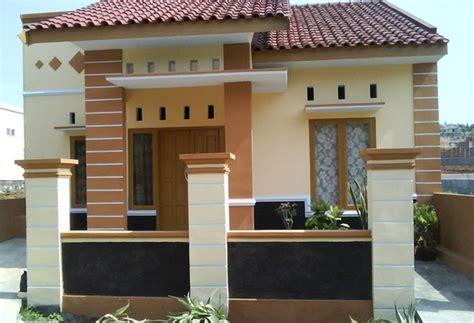 contoh motif relief tiang teras rumah minimalis