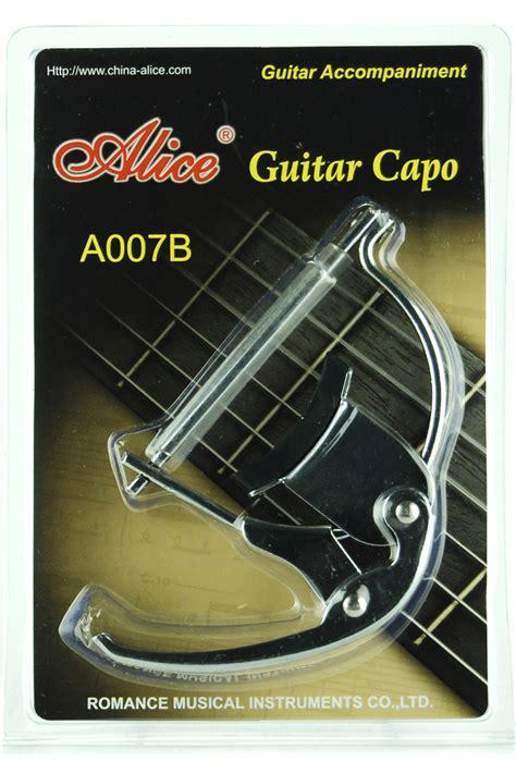 Guitar Capo A007b Silver gc a007b advanced alloy classical guitar capo