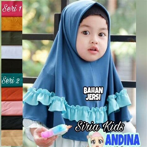 Syari Andina 2 jilbab anak lucu syria andina terbaru bagus banget