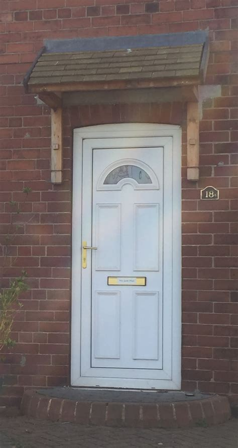 Door Canopy Kit by Bespoke Door Canopies Pitched Canopy Kit Gallery