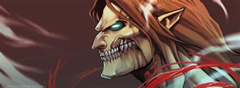 Kaos Anime Titan Rogue Eren Attack On Titan rogue titan eren jaeger zerochan anime image board