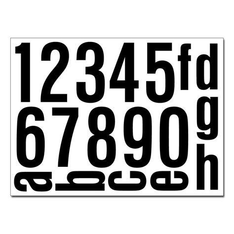 Aufkleber Zahlen Hausnummer by Hausnummern Aufkleber Selbstklebend Kaufen Verschiedene