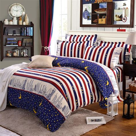 7pcs blue city comforter bedding be end 12 28 2017 4 15 pm