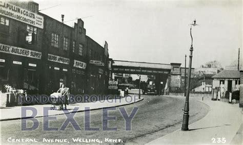 Black Fen pcd 986 central avenue welling kent c 1952 bexley
