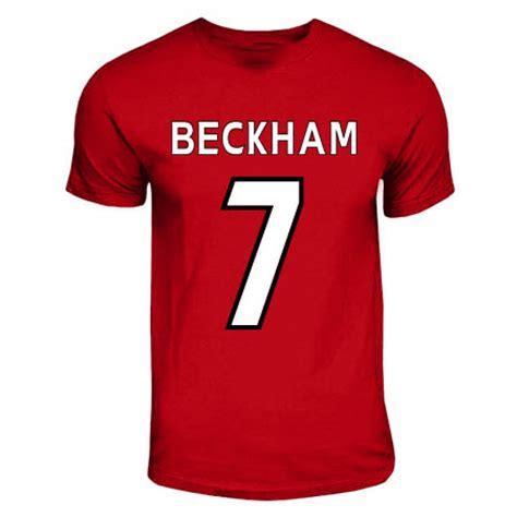 T Shirt Mu Utd david beckham manchester united t shirt tshirtredkids tshirtred uksoccershop