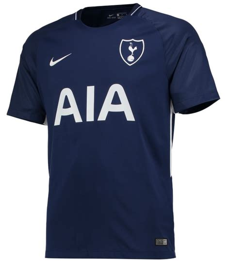 Tottenham Away Jersey by New Tottenham Nike Kit 2017 18 Thfc Home Away Shirts