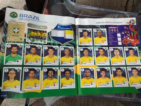 Brasil Copa Do Mundo Aumenta O Pre 231 O Das Figurinhas E 225 Lbum Da Copa Do Mundo