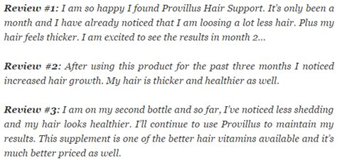 independent provillus reviews consumer hair loss treatment report information on hair loss and