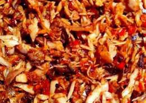 resep ikan cakalang suwir manado pampis tongkol pedas enak