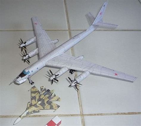 Papercraft Aircraft - aircraft paper model papercraftsquare free papercraft