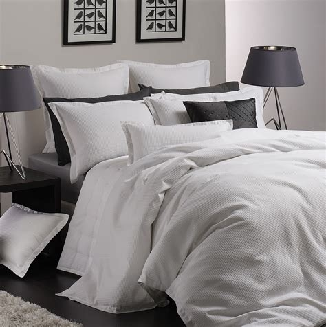 Beglance Cotton Ascot Bed Sheet ascot white by logan quilt covers best price linen