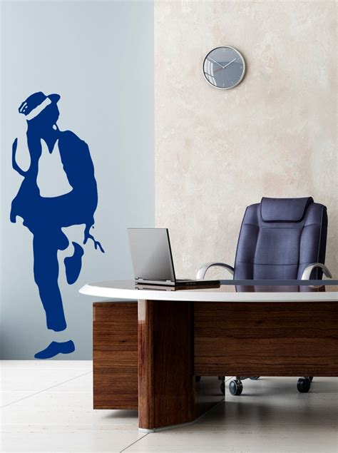 michael jackson wall sticker give a touch of creativity to your home with the wall stickers