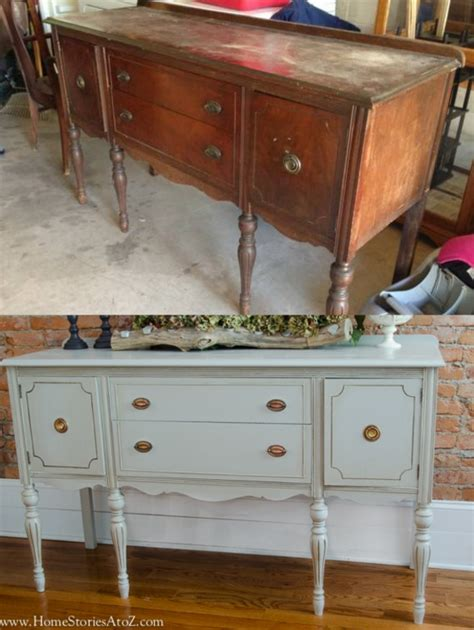Dining Room Buffet With Hutch how to paint a vintage buffet home stories a to z