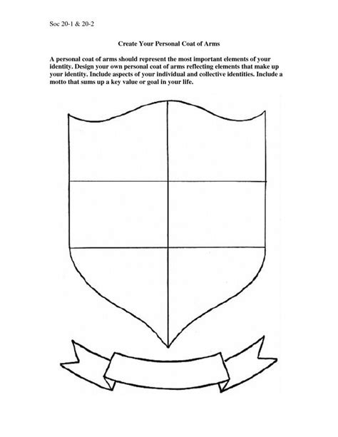make your own coat of arms template make your own coat of arms template 28 images blank