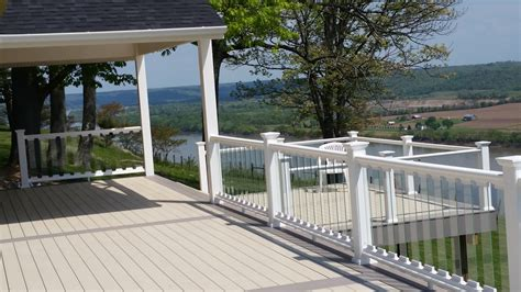 Glass Patio Railing Systems by Decks Glass Deck Railings