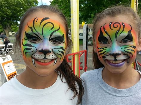 family tattoo lindenhurst rainbow rosie the facepainting clown face painting