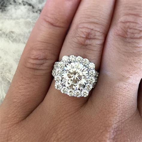 Big Engagement Rings big engagement rings raymond jewelers